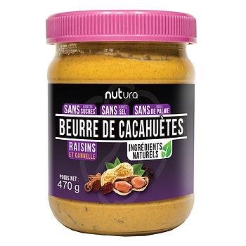 Beurre de cacahuètes cannelle