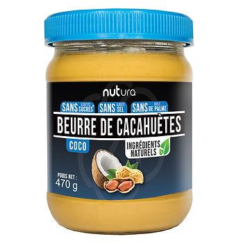Beurre de cacahuètes coco