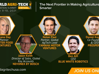 Join Seana at World Agritech Innovation Summit: The Next Frontier in Making Ag Smarter