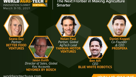 World Agritech Innovation Summit: The Next Frontier in Making Ag Smarter