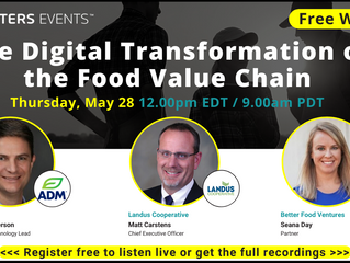 REUTERS EVENTS: Digital Transformation of the Food Value Chain