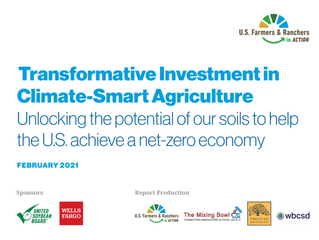 USFRA: Transformative Investment in Climate-Smart Agriculture