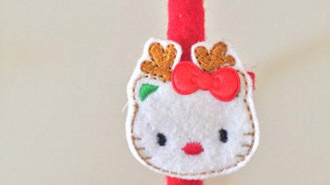 Hello Kitty Christmas Head Band
