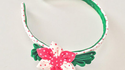 Christmas Flower Headband