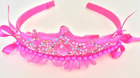 Pink Princess Head Band