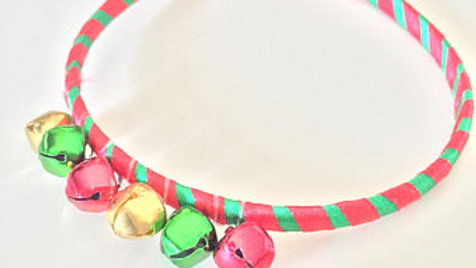 Jingle Bell Christmas Head Band
