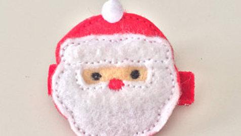 Santa Claus Hair Clip