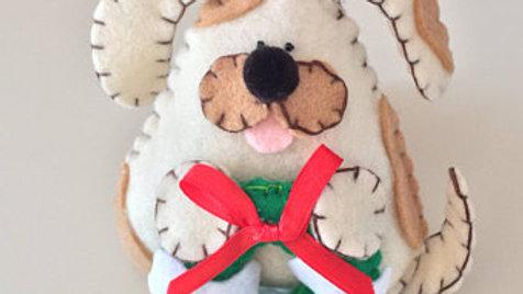 Christmas Doggie Ornament