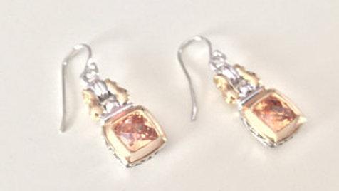 Golden Hinge Earrings