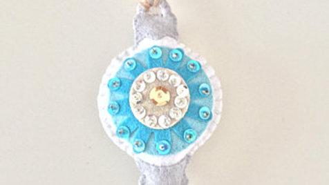 Blue Variety Christmas Ornament