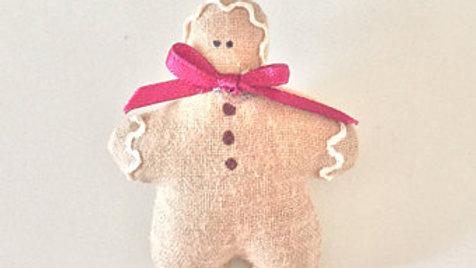 Gingerbread Man Christmas Pin