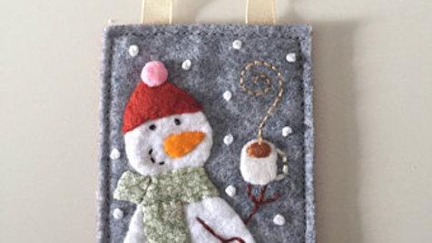 Snowman Cocoa Christmas Ornament