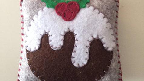 Fruit Cake Christmas Ornament