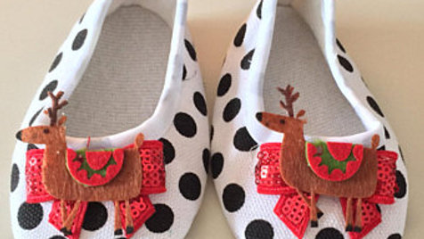 Reindeer Baby Shoes (6-9 Months)
