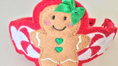 Gingerbread Man Christmas Head Band