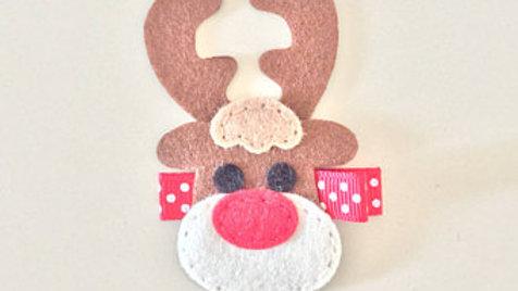 Reindeer Hair Clip