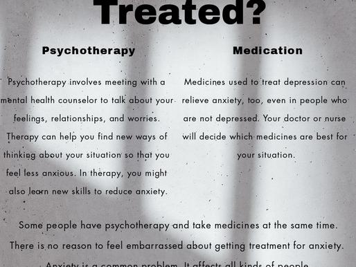 Anxiety Treatment: Psychotherapy vs Medication