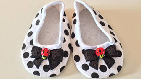 Lady Bug Baby Shoes (6-9 Months)