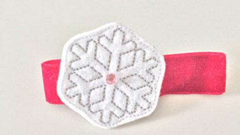Snowflake Christmas Hair Clip