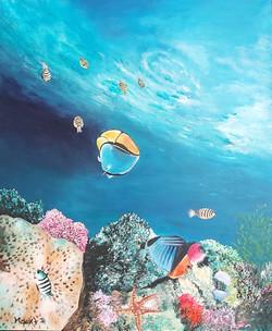 Morsko dno I.-akril