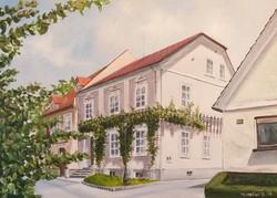 Ipavčeva hiša-akril