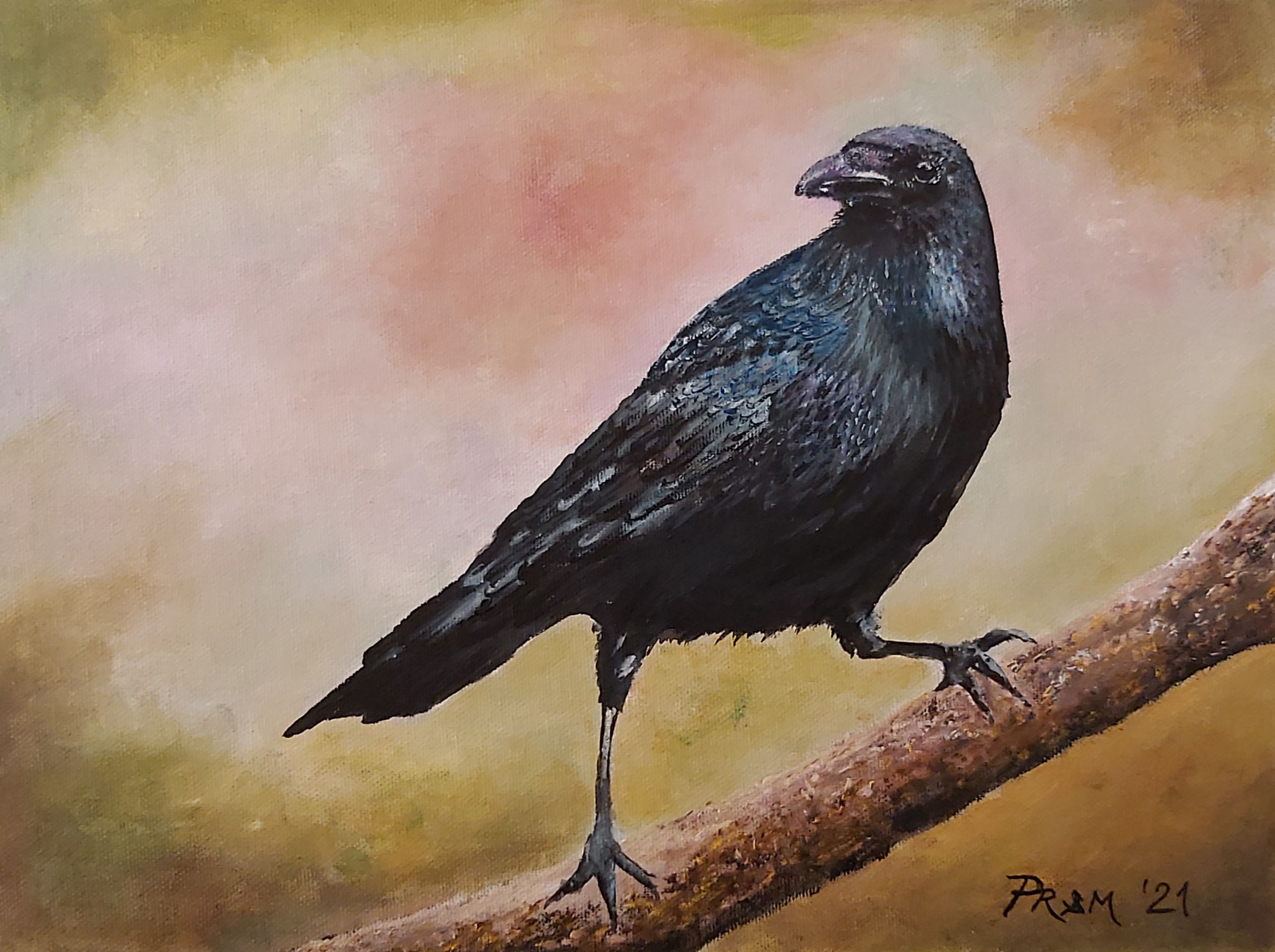 Vrana-akril