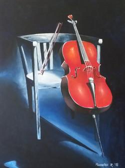 Violončelo-akril
