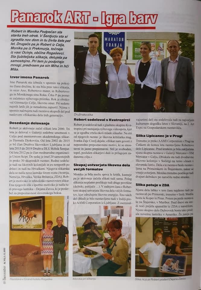 Prispevek v časopisu Šentjurčan (2)