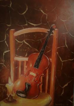 Violina-akril