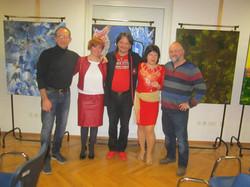 Razstava Marinke in Iva Asa v Mariboru 1