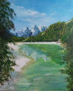 Gorski raj-akril