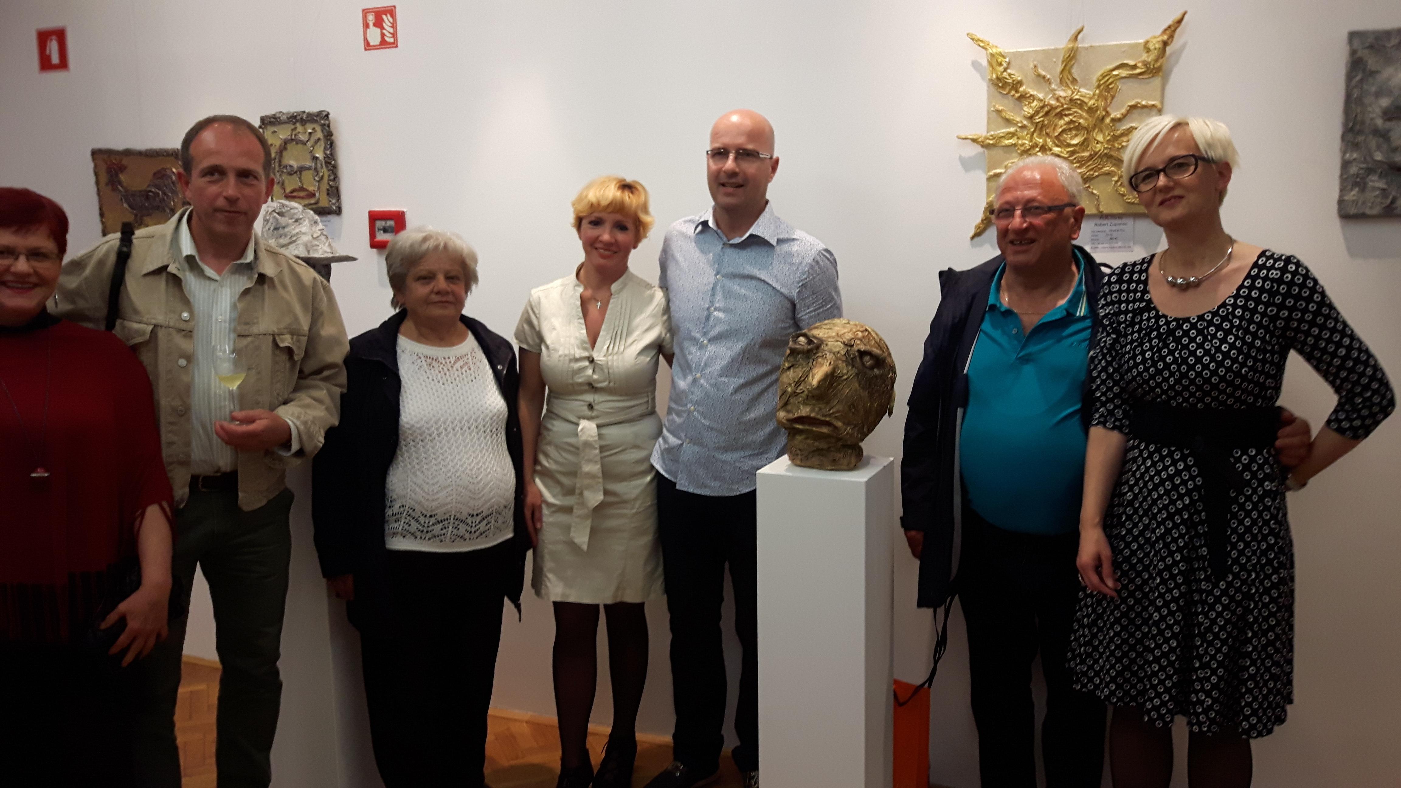 Obisk razstave Roberta Zupanca