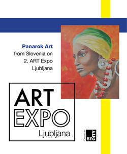Vabilo na ART Expo Ljubljana