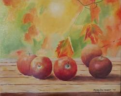 Jabolka-akril