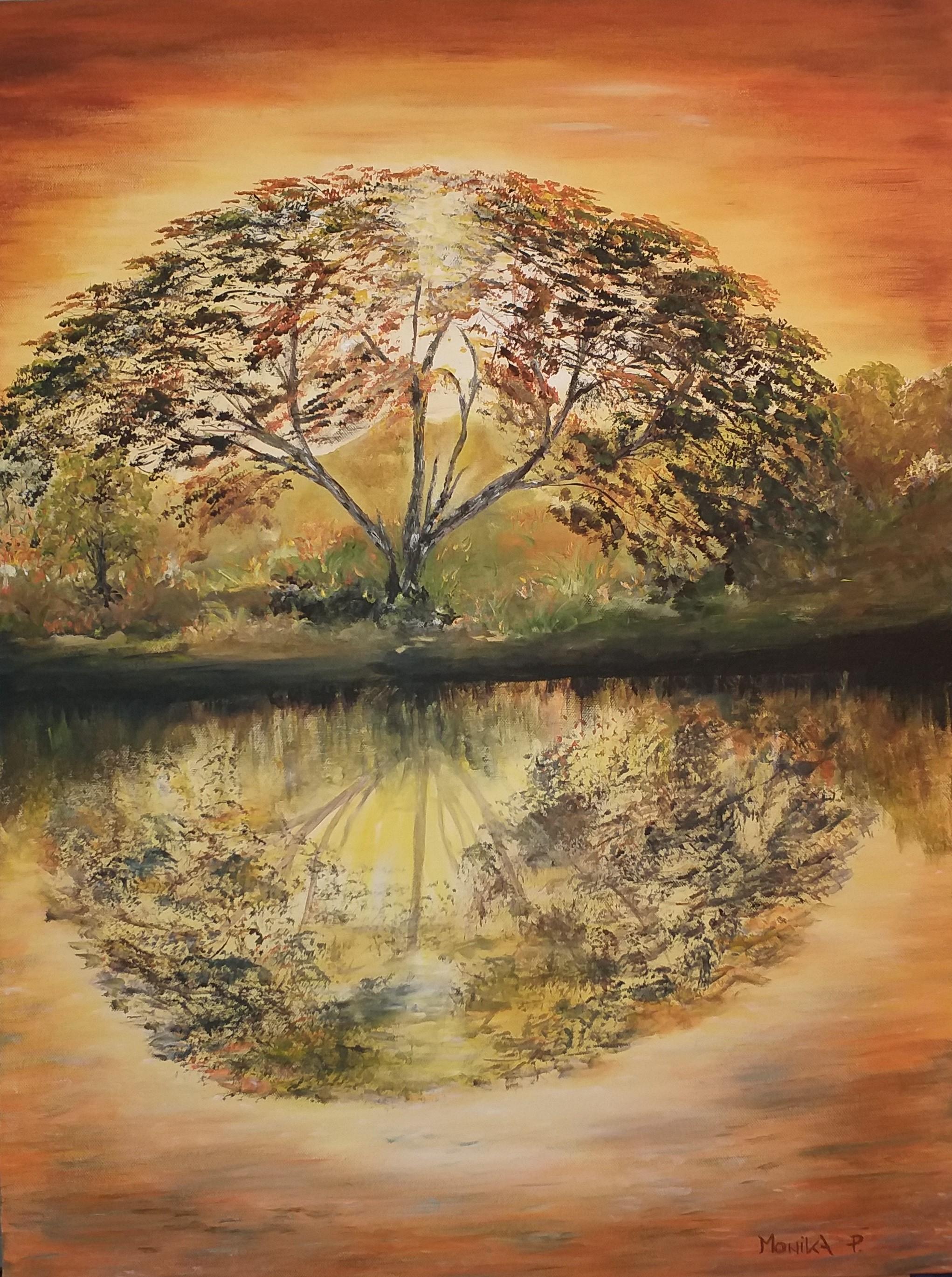 Drevo-akril