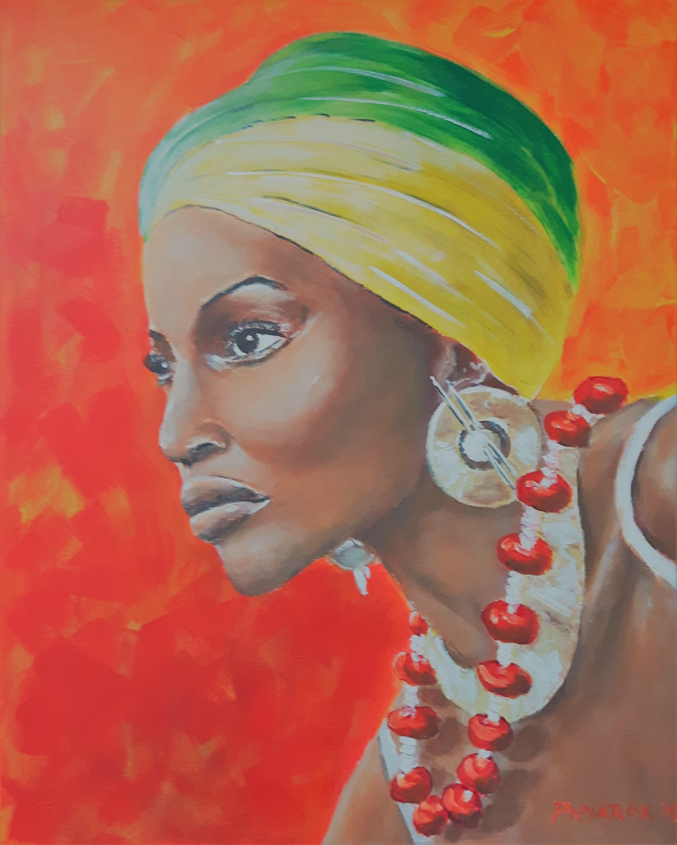 Afričanka-akril