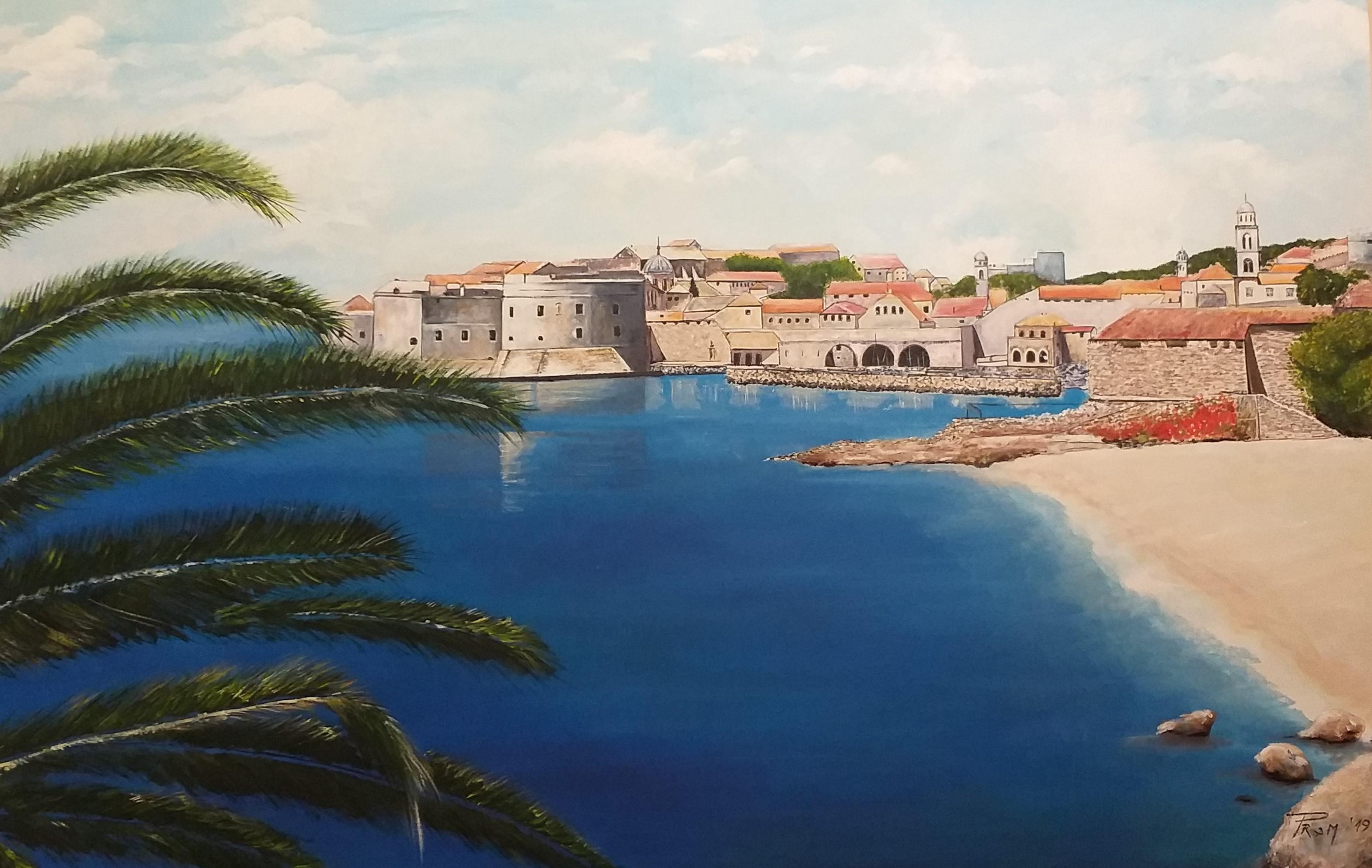 Dubrovnik-akril