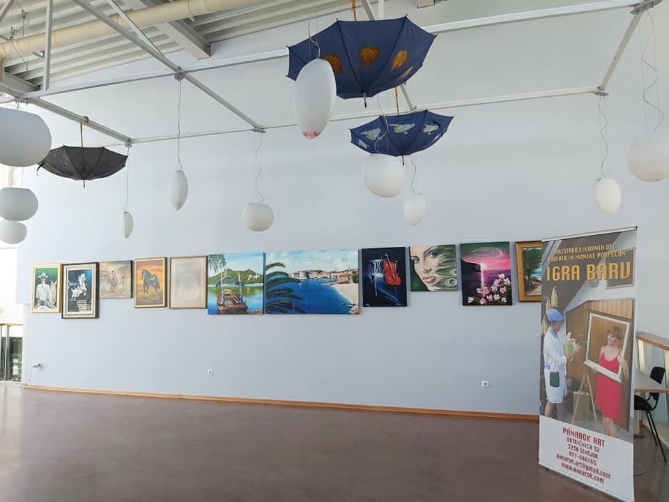 Razstava v Galeriji Mercator v Celju 201