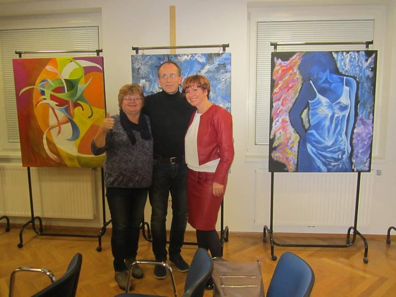 Razstava Marinke in Iva Asa v Mariboru 3