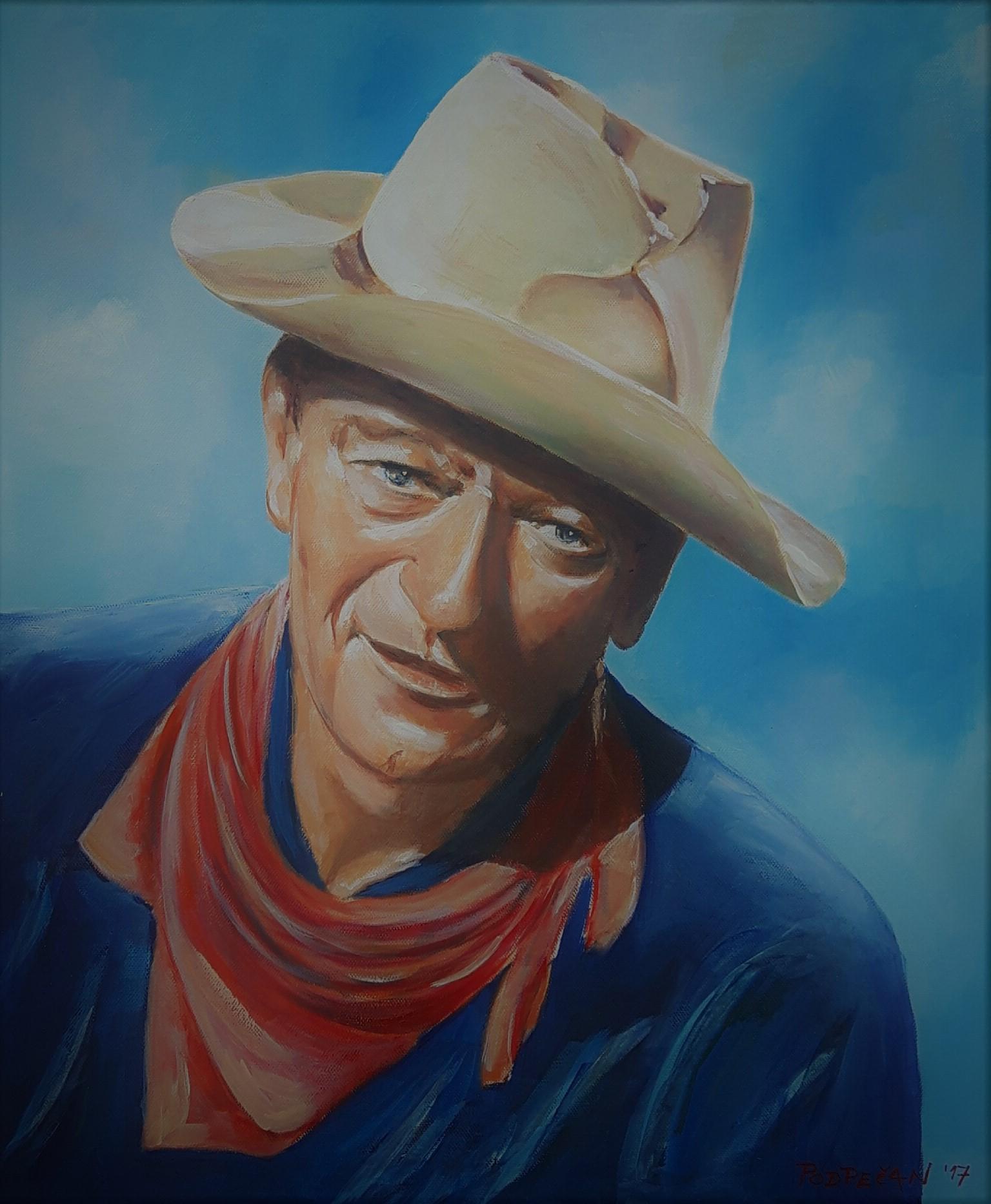 John Wayne-akril