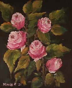 Vrtnice-akril
