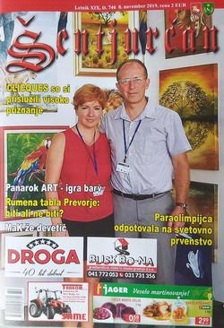 Prispevek v časopisu Šentjurčan (1)