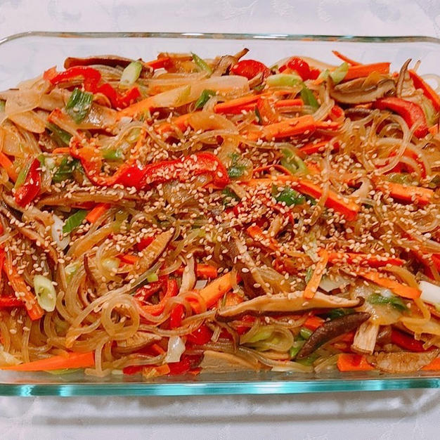 Chapchae (Vegetarian)