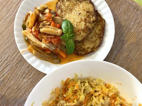 Stroganoff z boczniaków - idealne danie na niedzielny obiad!