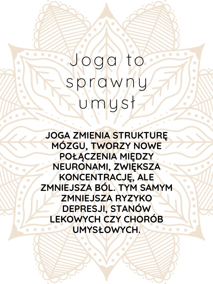 joga to sprawny umysł