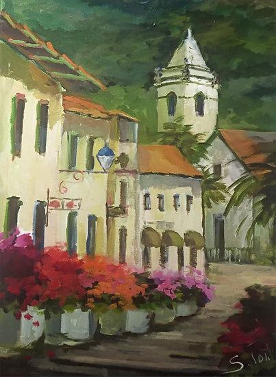 Sonia Poli. VILLAGE CHURCH, Madeira.