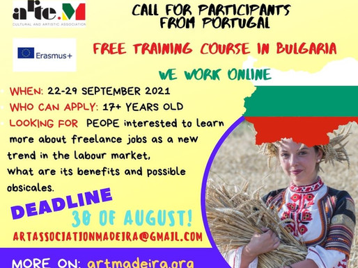 Free training course in Bulgaria.OPEN CALL