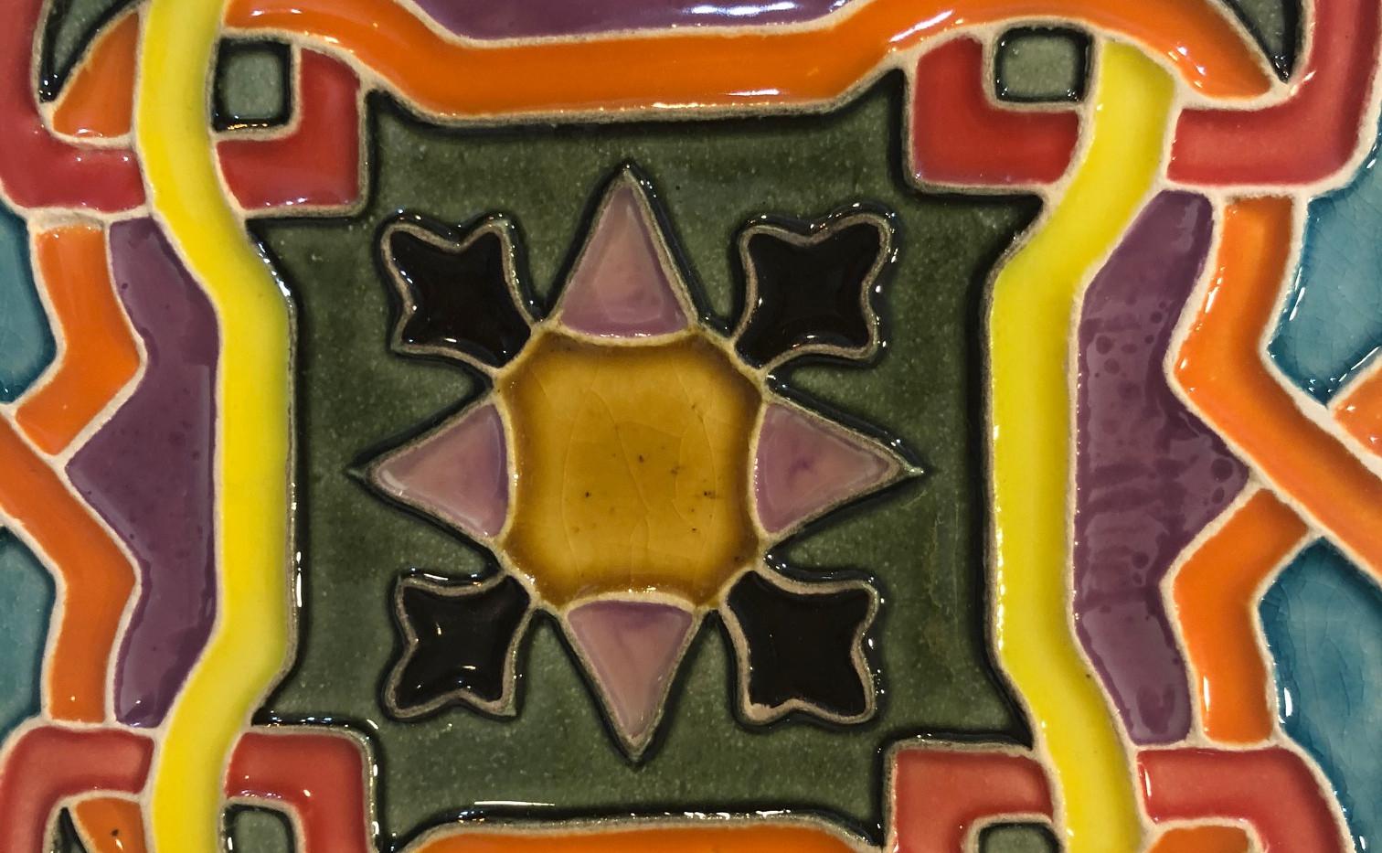 Portuguese tile. Azulejos. Luso 1 #2