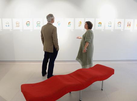 """Exhibition """"Das Máscaras""""- Sara Santos at Art Center Caravel, Funchal.Madeira island"""
