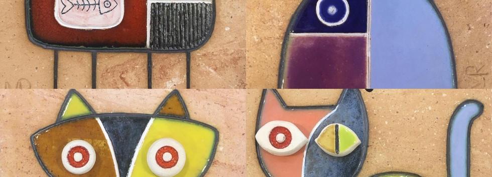 Portuguese tile. Azulejos. Cat.Mario #choice